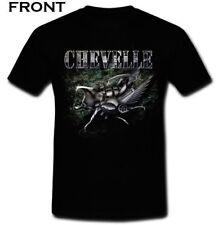 CHEVELLE Addict American rock Band 2 Side Deftones Black T-shirt S M L XL 2XL