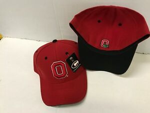 Ohio State Buckeyes NCAA Colosseum Red Fitted Hat Size 7 1/4