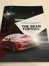 2018 KIA STINGER 50-page Original Dealer Brochure