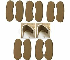 5Pairs/Set Cozy Extra Sticky Fabric Shoe Heel Inserts Insoles Pads Cushion Grips