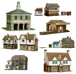 Superquick Series A and B Model Building Card Kits HO/OO Gauge