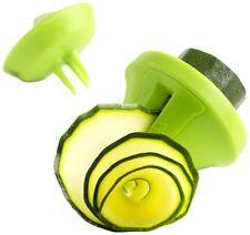 Mastrad Deco Veggie Slicer - 3-in-1 Spiral / Julienne Vegetable Slicer