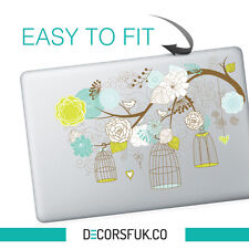 FIORI MacBook Adesivo | Laptop Adesivi | MacBook Decalcomanie-vinile chiaro