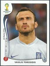 PANINI WORLD CUP 2014- #206-HELLAS-GREECE-VASILIS TOROSIDIS