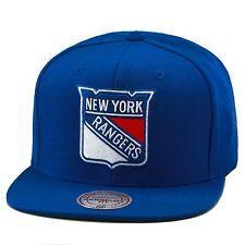 Mitchell & Ness New York Rangers NHL Snapback Hat All Light Royal/Team Logo