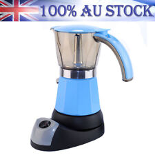 300ml Electric Espresso Machine Mocha Moka Pot Coffee Maker Italian Percolator