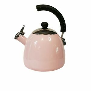 Farberware Luna Whistling Stovetop Tea Kettle Pink
