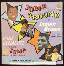 JAMES BROWN Jump Around With James Brown Album LP 1963 1st King 771 MONO - VG-EX