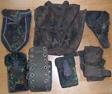 BW Lochkoppel Tragesystem 7 tlg. Flecktarn Koppeltragegestell Magazintasche