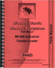 Massey Ferguson 406 Tractor Parts Manual MH-P-MF406 TL