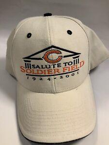 Chicago Bears Hat NFL Soldier Field Salute 1924 - 2001 Twins Enterprise