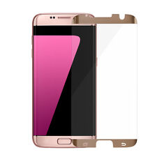 6 pcs Samsung Galaxy S7 edge Tempered Glass Screen Protector Anti-Scratch GOLD