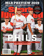 Sports Illustrated 2019 Philadelphia Phillies Bryce Harper Newsstand Copy NoLbl.