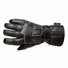 Oxford Fingers Leather Motorcycle Gloves