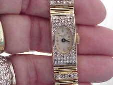 VINTAGE 14K SOLID GOLD DIAMOND BAUME & MERCIER GENEVE LADIES WATCH