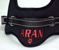 Pettorina Cane PERSONALIZZATA con NOME RICAMATO Sport Dog Harness Customized
