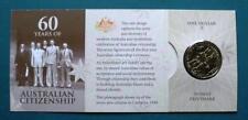 2009 Australian Citizenship One Dollar Uncirculated Coin Mintmark S