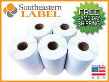 4x6 Direct Thermal Labels 100 rolls 400/roll Zebra Eltron 2844 * FREE SHIPPING *