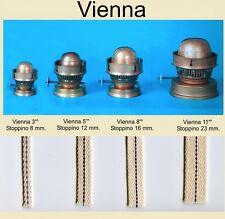 Stoppino per lume e lampada a petrolio Vienna ricambio 1metro da 12 mm.