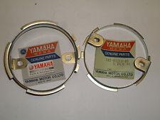 YAMAHA TX750 - SPEEDOMETER, TACHOMETER PLATE FITTING (PAIR)