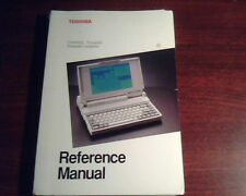 Toshiba Reference Manual T1000XE Portable Personal Computer IBM C124-0890M2