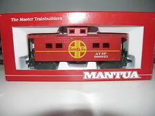 Mantua - Ho Scale - #726-002 Heavy 36' Santa Fe Caboose