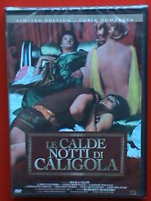film dvd limited edition le calde notti di caligola erotic movies carlo colombo
