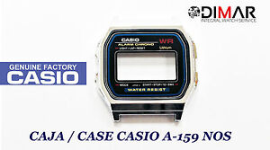 Vintage Gehäuse / Packung Casio A-159 NOS