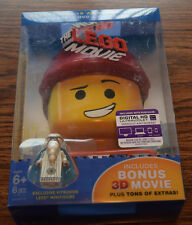 The Lego Movie Everything is Awesome Edition Blu-Ray DVD with Vitruvius Mini Fig