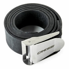 Cressi Quick-Release Rubber Weight Belt w/ Metal Buckle