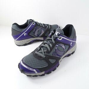 Pearl Izumi W X-ALP Seek V Womens 41 US 10 Shoes Cycle Touring Purple Grey