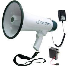 Pyle Pmp45R Pro Professional Dynamic Megaphone w/Recording Detachable Microphone