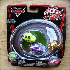 Disney PIXAR Cars MICRO DRIFTERS GOLD MCQUEEN & HOLLEY SHIFTWELL & ACER 3PK INTL