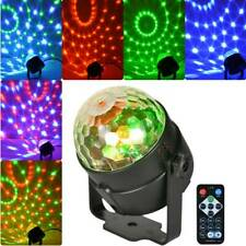 Disco Lichteffekt LED Discokugel DJ Party RGB Bühnenbeleuchtung Fernbedienung DE