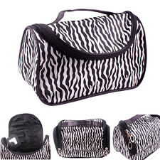 Vanity Case Make-Up Bags Cosmetic Nail Polish Storage Travel Folding Organizer