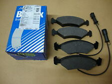 Ford Escort MK 3/4 1980 - 1990 Bendix 571291X  Front Disc Brake Pads With Wi