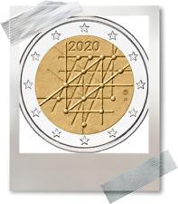 2 EURO *** Finlande 2020 Finland *** L'université de Turku Universiteit !!!