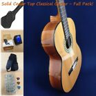 Caraya C-4/4N Solid Cedar Top Classical Guitar,Natural + Free Bag,Extra Strings for sale