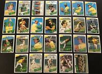1980 Topps OAKLAND A's Team Lot of 26 Cards FREE/SHIP MIKE NORRIS Rick LANGFORD