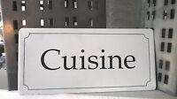 HOME KONTOR IB Laursen Cuisine Hänger Shabby Küche Landhaus Metall weiß 15x7cm