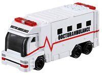 Takara Tomy Tomica Hyper Rescue Drive Head Doctor Ambulance DHT-03