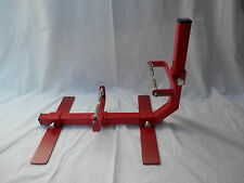 Fully Adjustable engine stand for most motorcycle engines unit and pre-unit.
