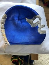 Adult Blue Mexican Wrestler Lucha Mask