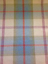 Fryetts Heera Check Blush 100/% Silk  Curtain//Craft Fabric