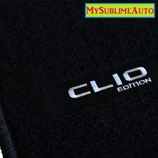 Tapis De Sol Renault Clio III 3 De 2005 à 2012 Velours Edition Logo Brodé NEUFS