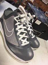 "Nike Air Max Lebron VII ""7"" ""Cool Grey"" 375664 002 Sz 9"