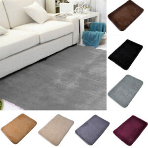 Area Rug Non Slip Bath Mat Bathroom Rugs Home Kitchen Floor Mats Carpet 1PC