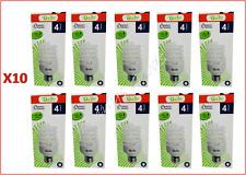 20W a basso consumo Energetico Lampadine X10 LAMPADA RISPARMIO LAMPADINE VITE SPIRALE CFL Lampadine Da 20w = 100w