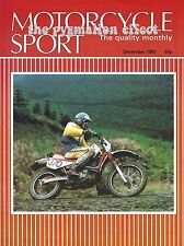 Motorcycle Sport Magazine December 1983 - BMW K100 ELF Endurance Race Bike