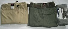 "Mens Casual Long Pants AND 2 Casual Shorts, 30"", All NEW"